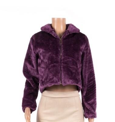Plume de fur faux coat