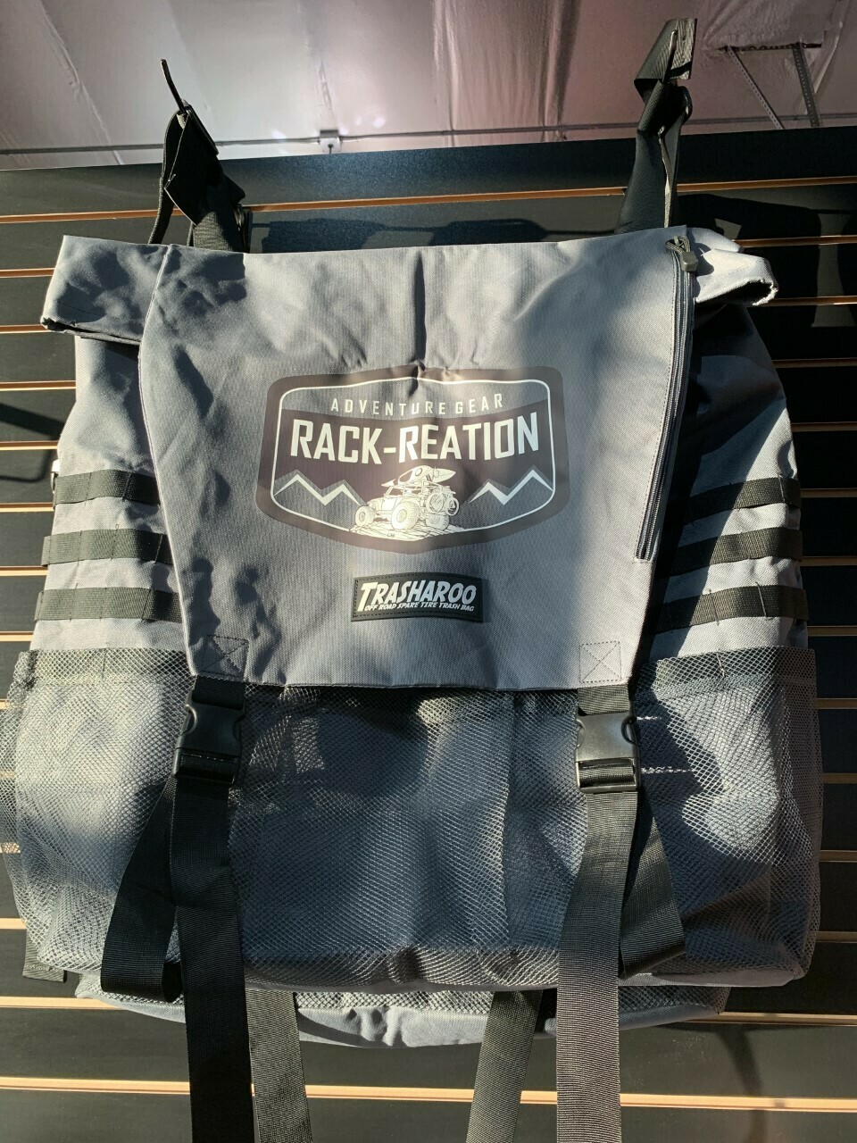 Trasharoo - Logo - Rack-Reation -Grey