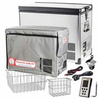 BD/C-42ss Stainless Steel Traveller Series ACDC Freezer-SnoMaster
