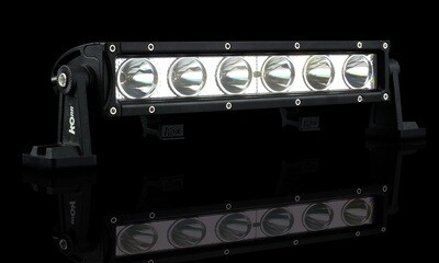 SINGLE ROW 10 INCH 18W OSRAM LED SPOT DRIVING LIGHT