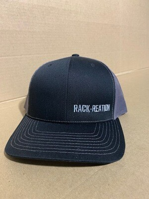 BLACK/CHARCOAL Hat Style 112 (Small Logo)