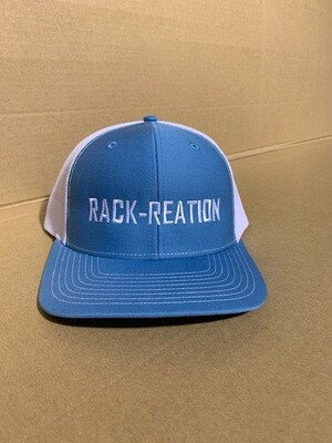 Hat COLUMBIA BLUE/WHITE Style 112 (Large Logo)