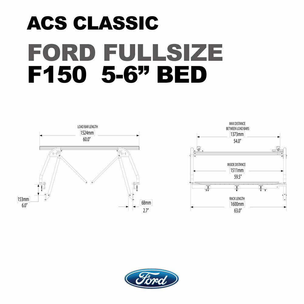 ACS Full size - full size 6 1/2' bed - Leitner
