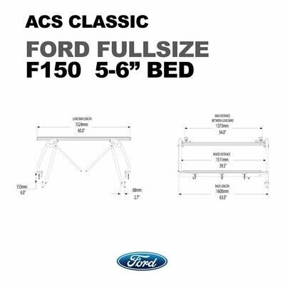 ACS Full size - full size 6 1/2' bed - Leitner