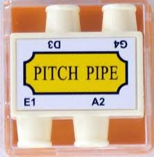 Plastic Pitch Pipe