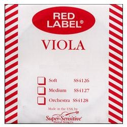 Red Label String Viola - Steel Core