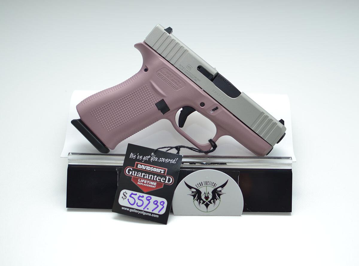 Glock 43x 9mm Pink