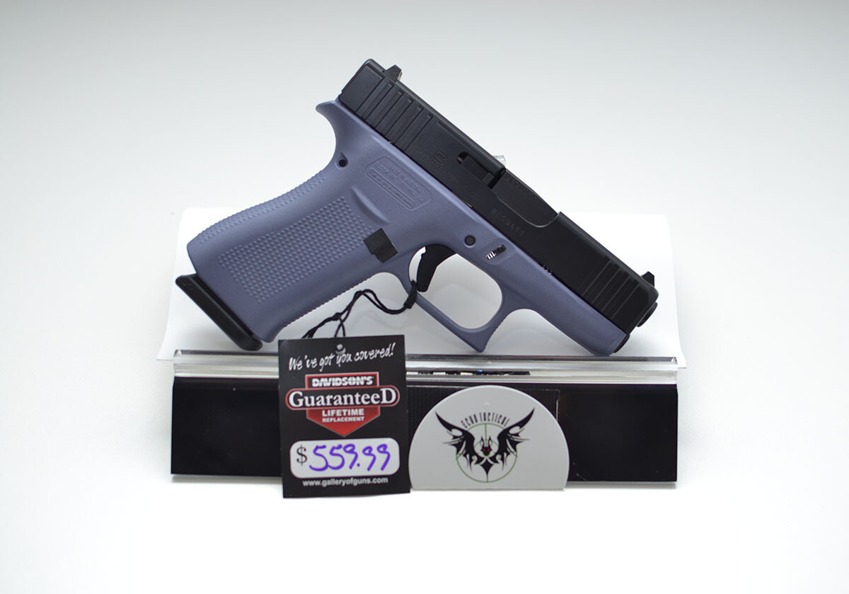 Glock 43X 9mm Orchid