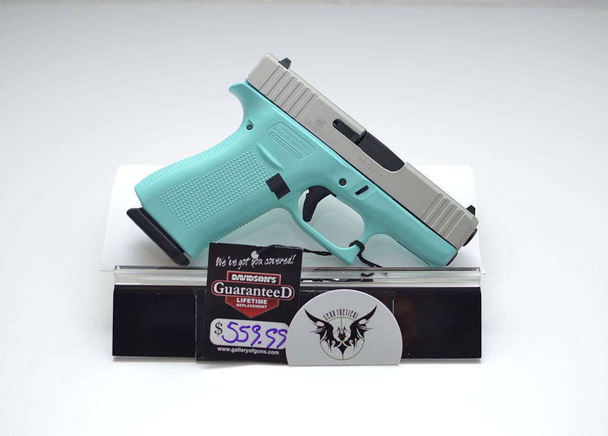 Glock 43X 9mm Robins Egg