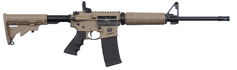 Ruger AR556 Dark Earth
