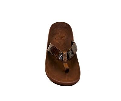 Alligator Sandal
