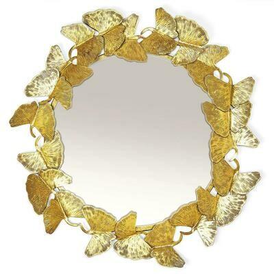 Ginko Leaf Mirror