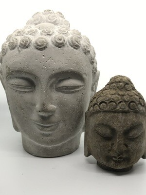 Stone Buddha Head 1