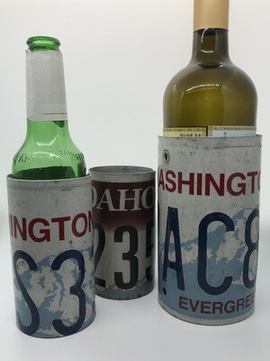 License Plate Bottle Coozie