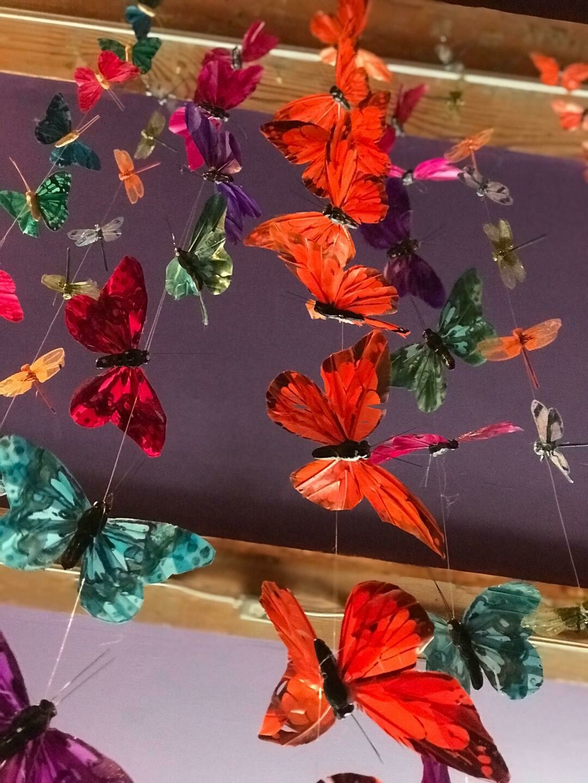 Monarch Butterfly Garland
