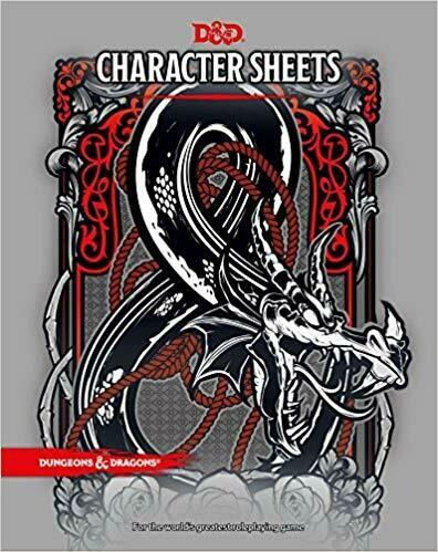 Character Sheets 5th Edition