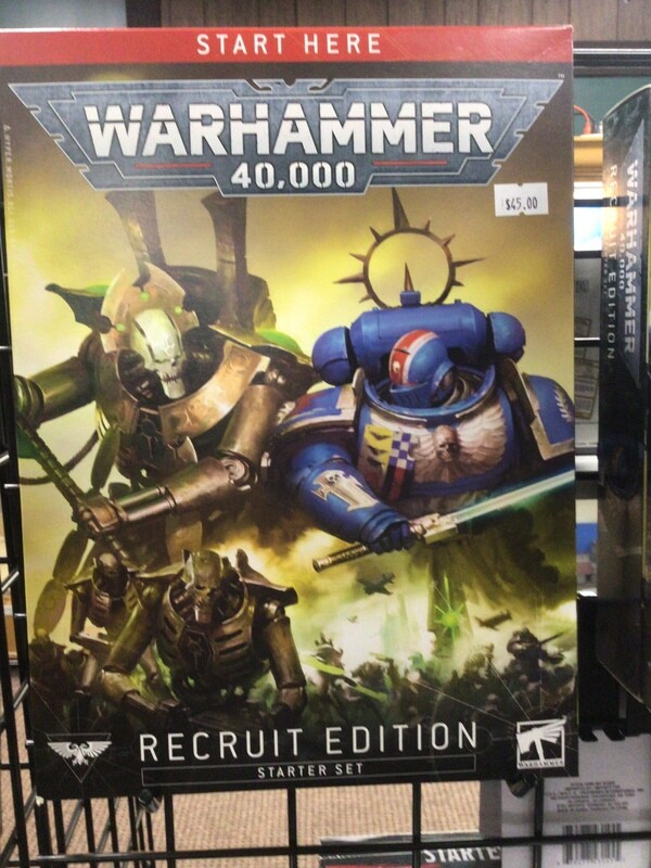 Warhammer 40000: Recruit Edition