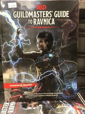 Guild masters Guide to Ravnica
