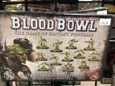 Blood Bowl: The Scarcrag Snivelers