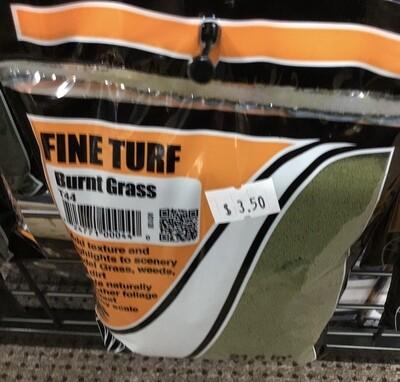Fine Turf Burnt Grass Shaker