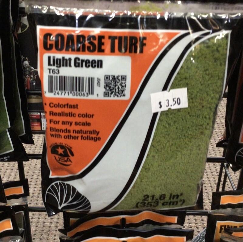 Coarse Turf Light Green