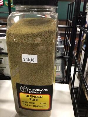 Woodland Scenics: Fine Turf - Earth Blend (shaker)