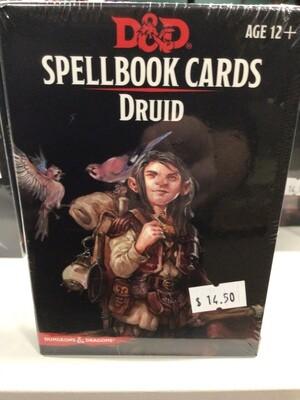 Spell Book Cards Druid