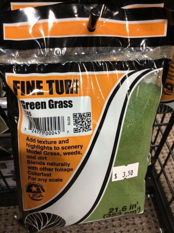 Fine turf- Green Grass