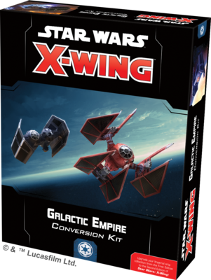 Galactic Empire Conversion Kit x-wing