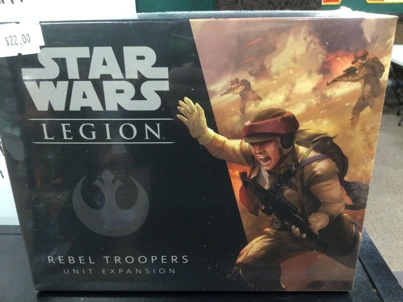 Rebel Troopers expansion