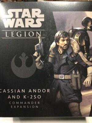 Cassian Andor and K-2SO