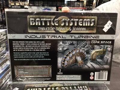 Battle Systems Industrial Turbine