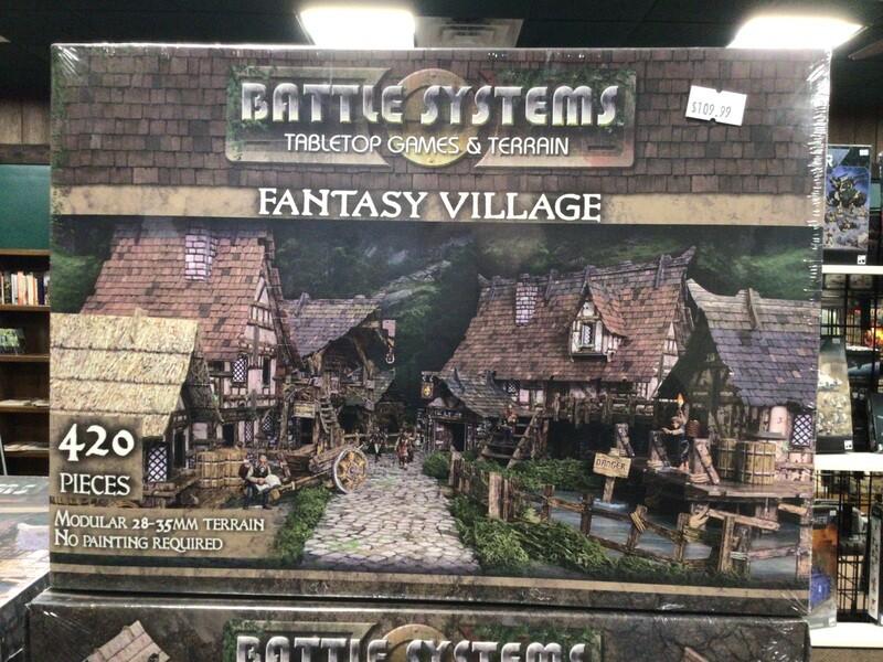 Battle Systems Fantasy Village