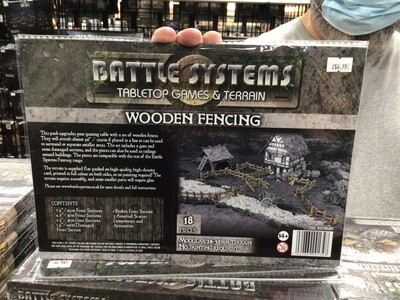Battle Systems Wooden Fencing