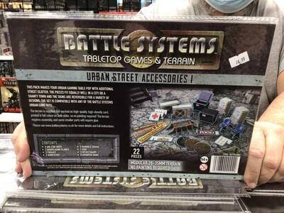 Battle Systems Urban Street Accessories 1