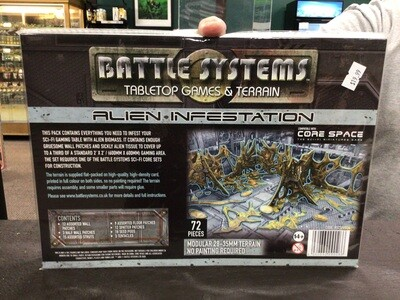 Battle Systems Alien Infestation