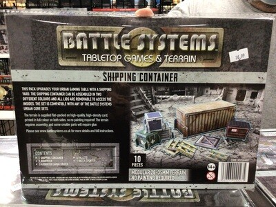 Battle Systems Shipping Container