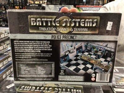 Battle Systems Police Station