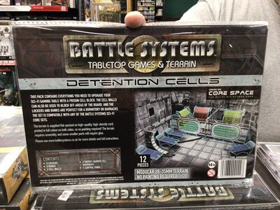 Battle Systems Detention Cells