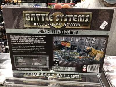 Battle Systems Urban Street Accessories 2