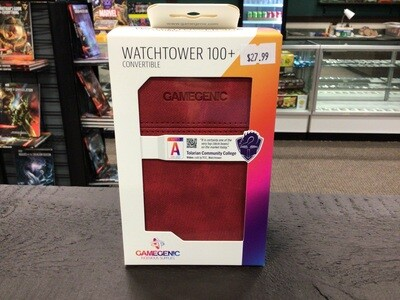 Watchtower Deck Box 100 red