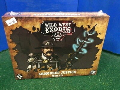 Wild West armored justice