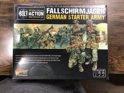 BOLT ACTION FALLSHIRMJAGER ARMY BOX