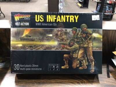 BOLT ACTION US INFANTRY WW2 AMERICAN GIs