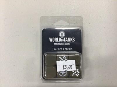 WORLD OF TANKS USA DICE