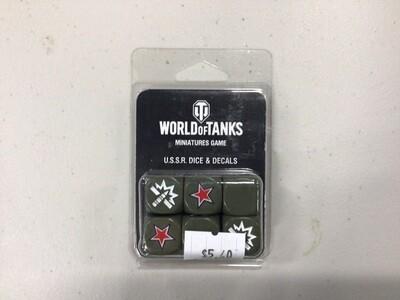 WORLD OF TANKS USSR DICE