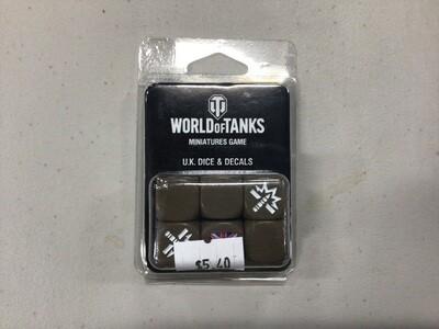 WORLD OF TANKS UK DICE