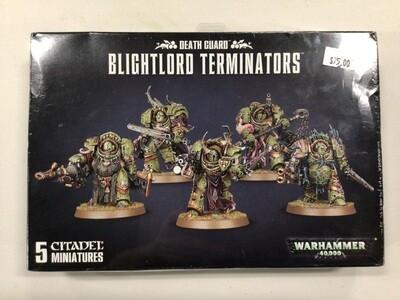 Death Guard Blightlord Terminators