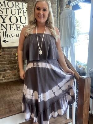 6135 Tie Dye Dress
