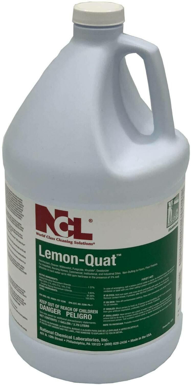 Lemon-Quat Disinfectant, Cleaner, Fungicide, Virucide